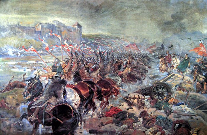 Battle of Vienna 1683 by Jerzy Kossak